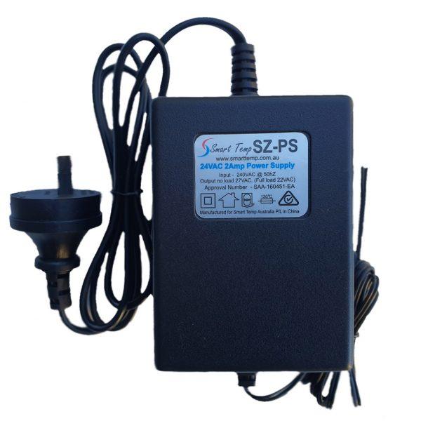 A Smart Temp black power supply.